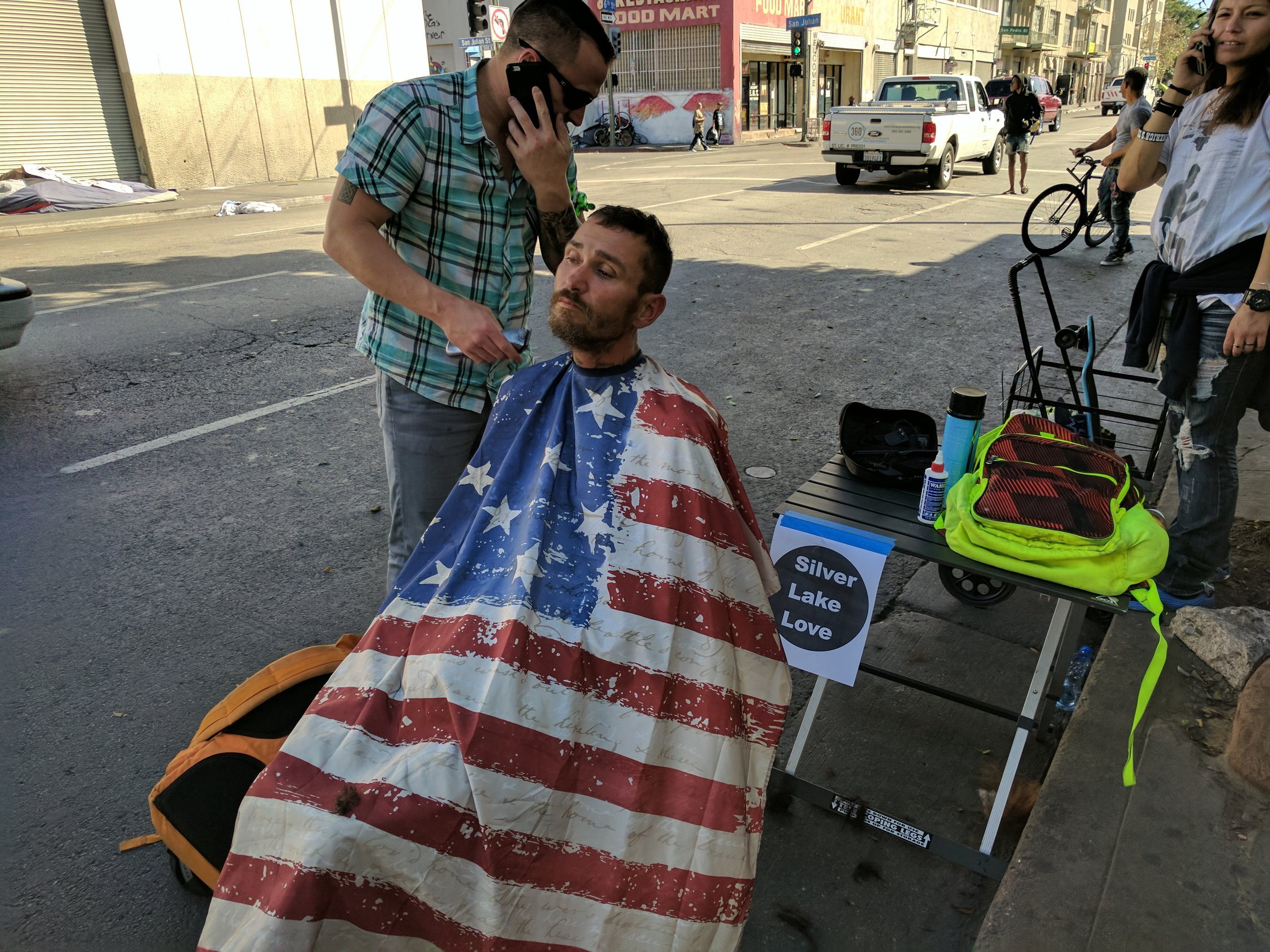 Haircuts For Homeless Veterans